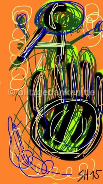 Computermalerei, Hand