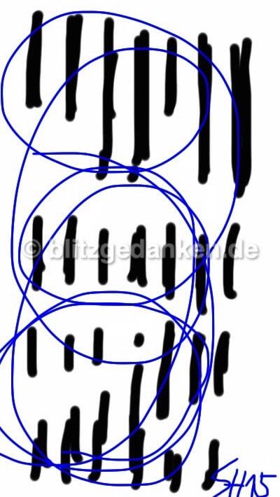 Computermalerei, abstraktes Muster