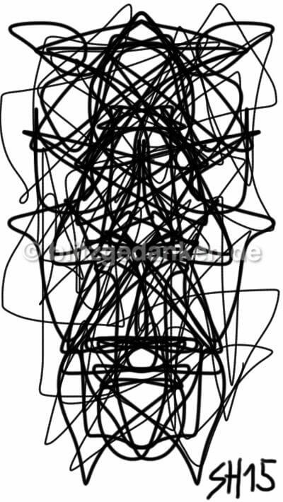 Computerzeichnung abstrakt