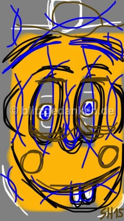 Computermalerei, Gesicht