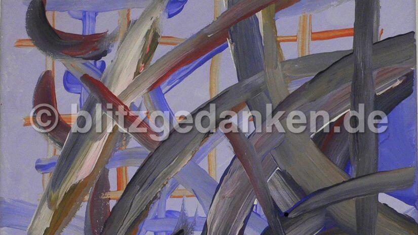 Acrylgemälde, abstrakt