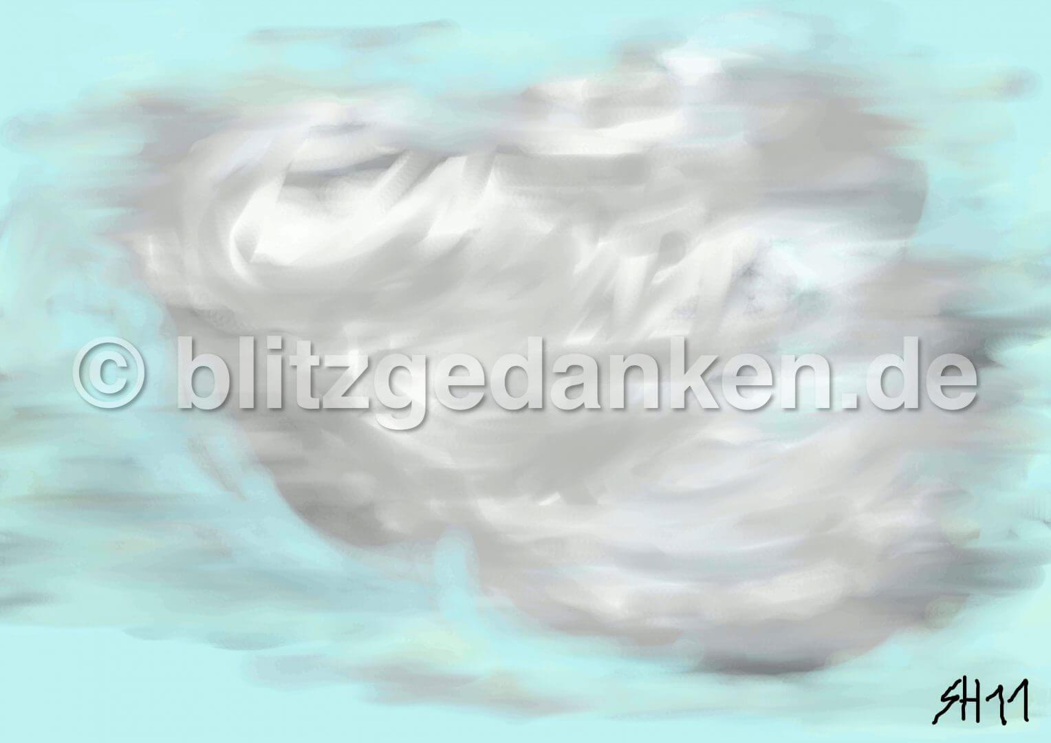 Computermalerei, Wolke