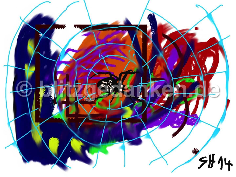 Computermalerei, Spinnennetz