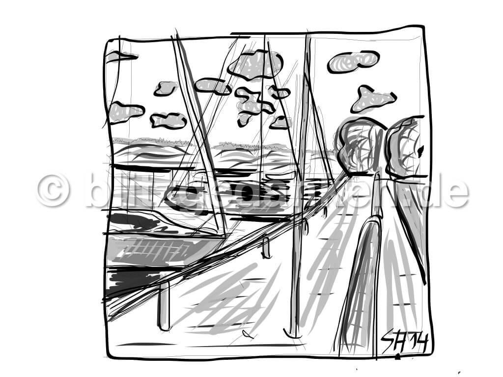 Hafen an der Schlei