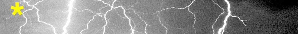 Blitz als Vorbild zum Blitz zeichnen