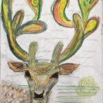 träumender Hirsch