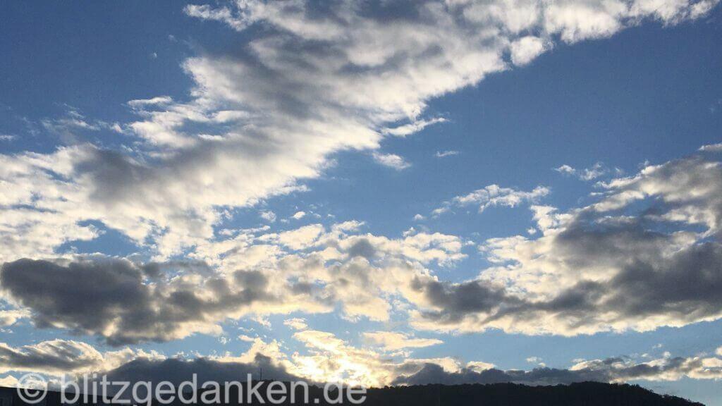 Himmel (als Zeichen für Freiheit - Sinn der Fotografie)