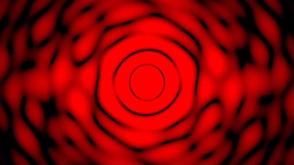 Beugungsbild eines kreisförmigen Spaltes mit mehreren Fehler
